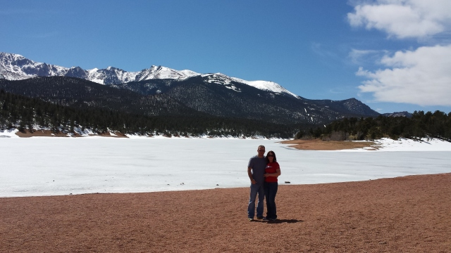 3-30-2015 - Pam & Dewayne at Pike's Peak