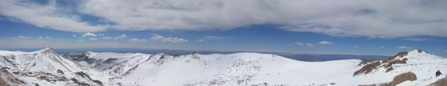 3-30-2015 - Pike's Peak Panorama 2
