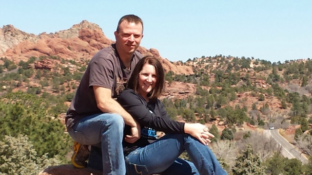 3-31-2015 - Garden of the Gods - Dewayne & Pam 2