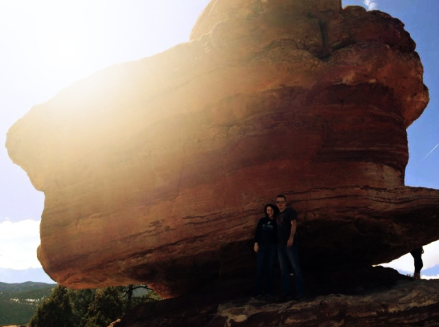 3-31-2015 - Garden of the Gods - Dewayne & Pam 5