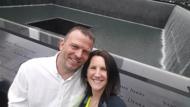 5-9-2015 - Pam & Dewayne at World Trade Center Memorial