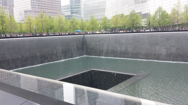 5-9-2015 - World Trade Center Memorial
