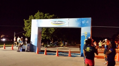 10-4-2015 - Start line of Key Biscayne Half Marathon