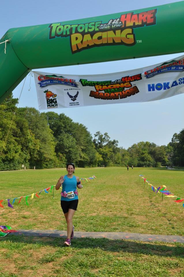 9-5-2015 - Tortoise & The Hare Half Marathon in Canton, GA